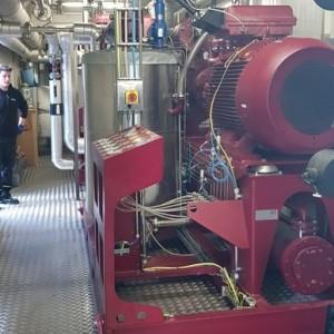 sprężarka bio gazu w kontenerze